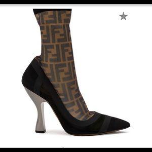 Fendi stretch FF boots
